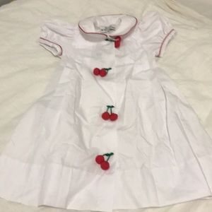 Other - 🎉NWT toddler sailor dress w/cherry buttons 🍒🍒🎉